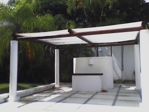 Lona para pergola simple outdoor sun shade ideas the for Carpas jardin alcampo