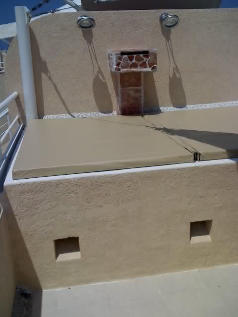 Tapas y fundas jacuzzi lonas carpas velarias for Construir jacuzzi exterior